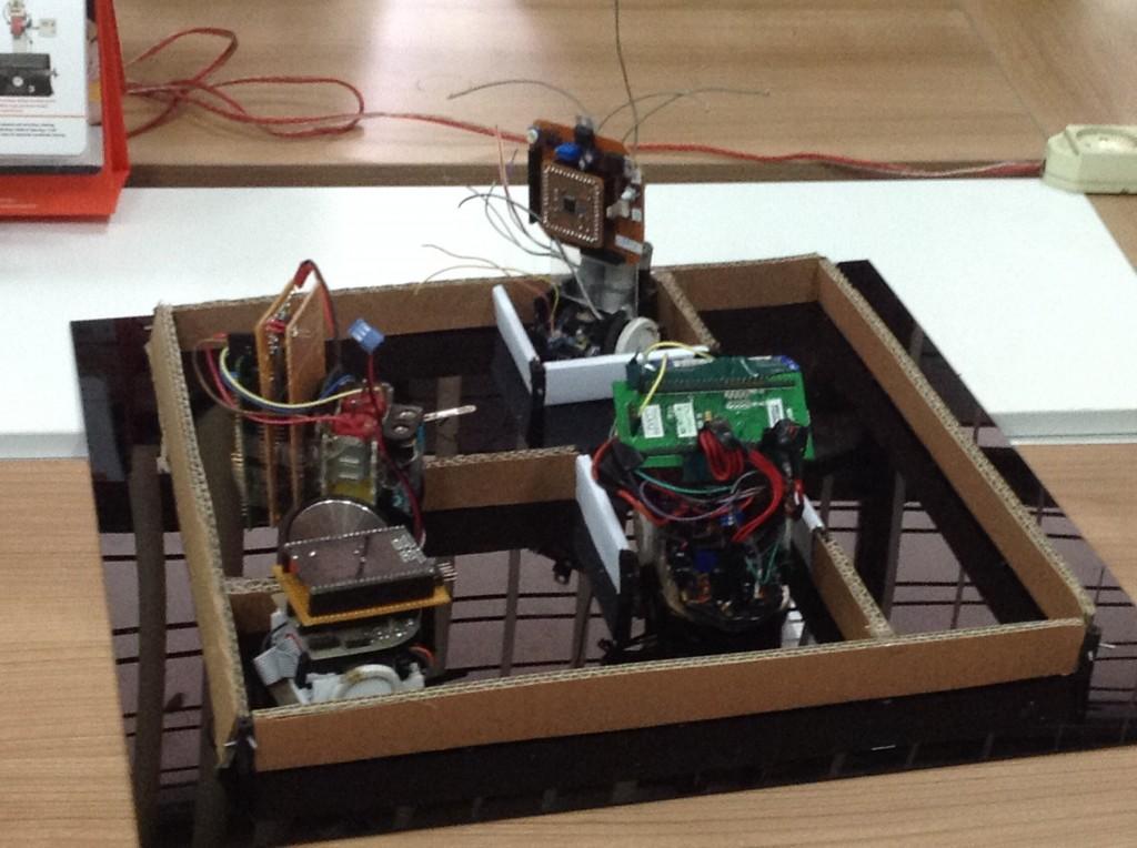 tahap 1 robot